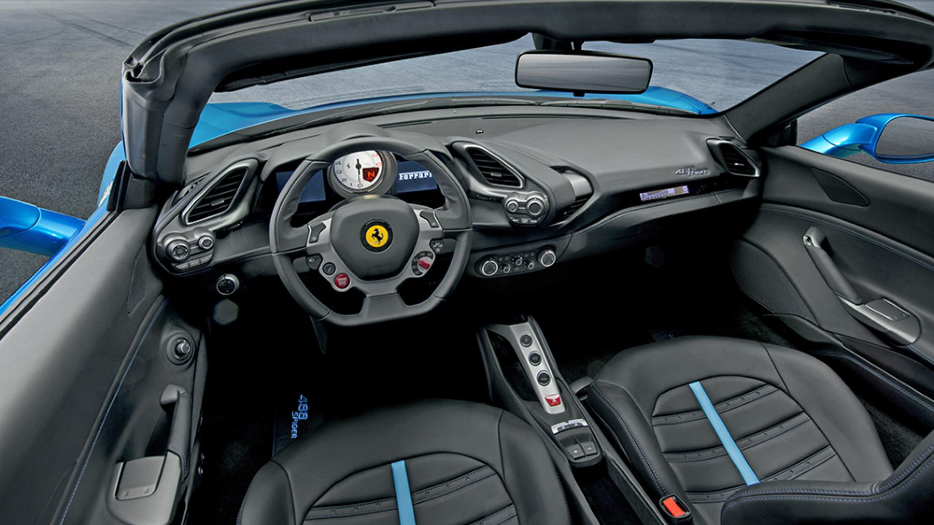 ferrari 488 spider veloce da ferma. Black Bedroom Furniture Sets. Home Design Ideas