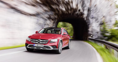 Mercedes-Benz Classe E 4MATIC All-Terrain, station wagon d'arrampicata