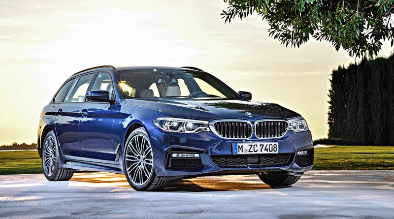 Arriva la nuova BMW Serie 5 Touring, station wagon premium
