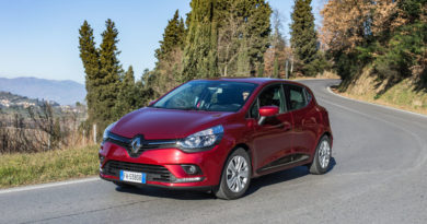 Weekend a Firenze sulla Renault Clio Turbo GPL