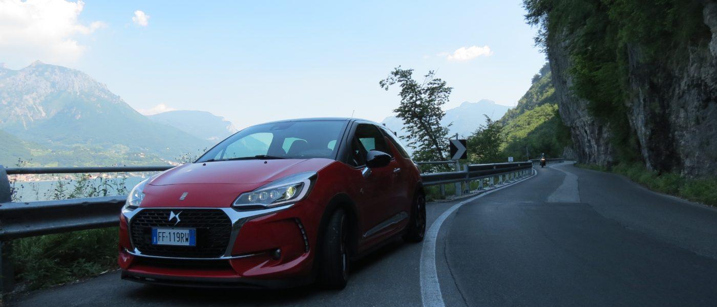 DS3 Performance sulle strade del Lago di Como
