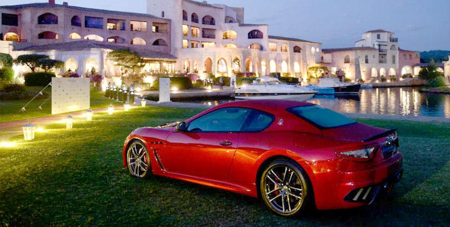 Weekend di lusso con la Maserati in Costa Smeralda