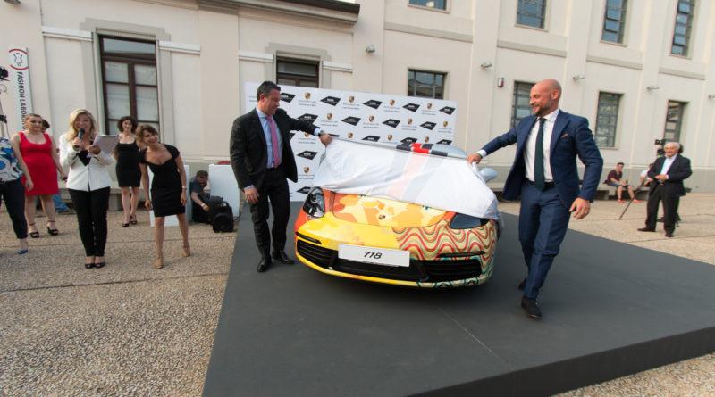 La Porsche di Janis Joplin 50 anni dopo: Porsche incontra NABA a Milano
