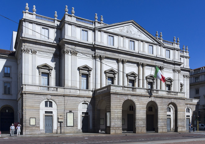 Teatro alla Scala, Milano.