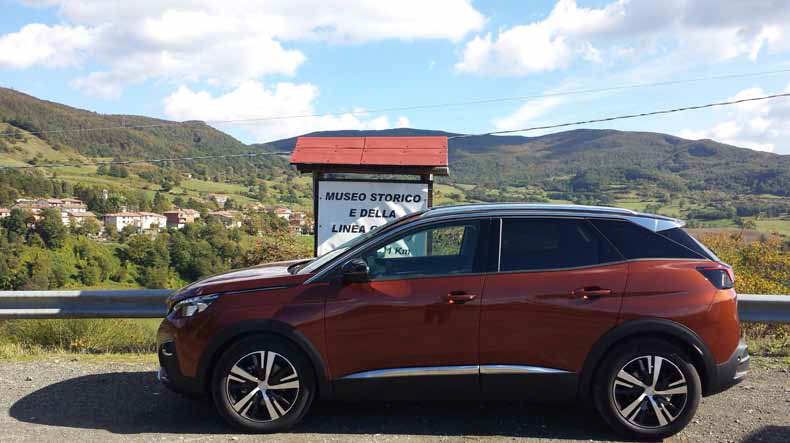 Weekend in auto con la nuova Peugeot 3008 2016