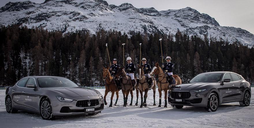 Weekend a Saint Moritz sulle Maserati