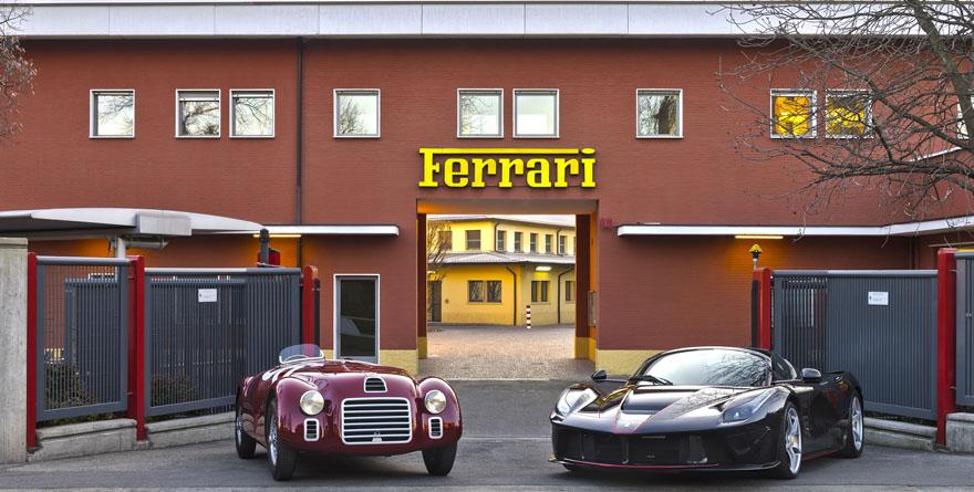 Festeggiamenti 70 anni Ferrari
