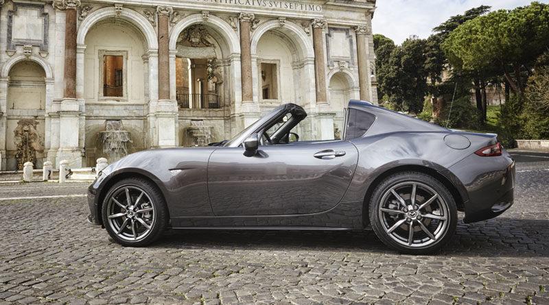 Sabato 18 marzo un weekend di porte aperte per la Mazda MX-5 RF, variante con tetto rigido della spider giapponese, l'auto scoperta più venduta nel mondo