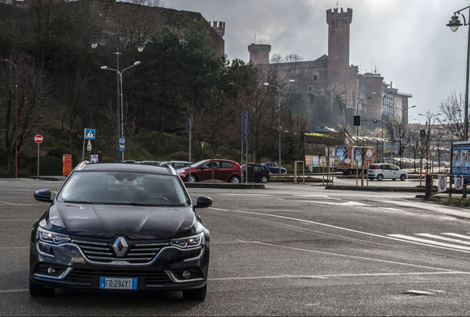 Weekend Renault Talisman Sporter ad Ivrea, Olivetti
