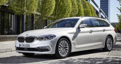 BMW Serie 5 Touring Parco Valentino 2017