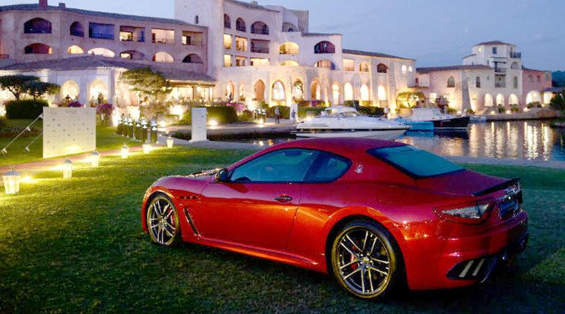 Auto di lusso Maserati Costa Smeralda Invitational