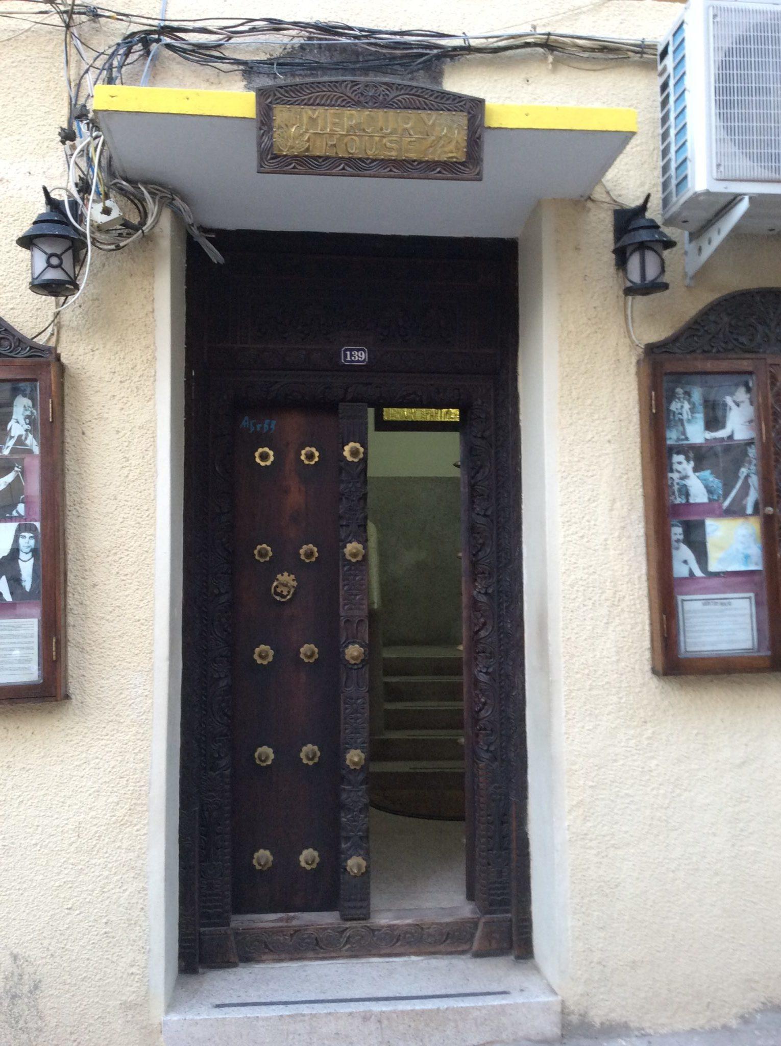 Zanzibar - Casa di Freddy Mercuy a Stone Town