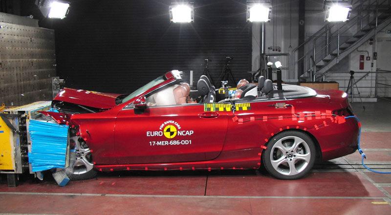 Sicurezza auto, 5 stelle: i crash test di EuroNcap