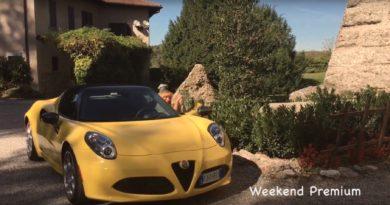 Tour d'arte in Lombardia con l'Alfa Romeo 4c