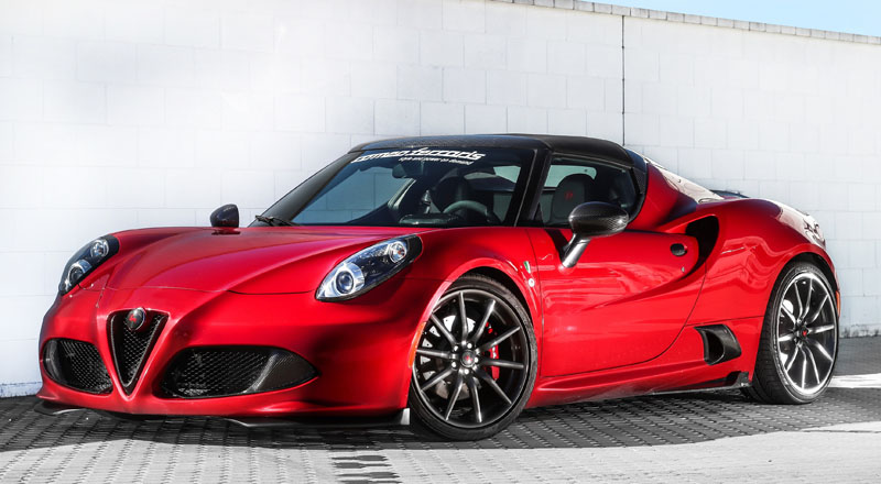 Alfa Romeo 4C Romeo Ferraris