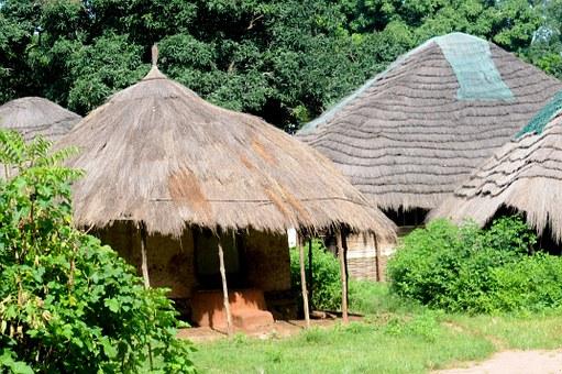 Guinea Bissau villaggio