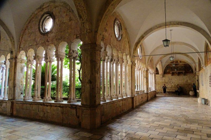 Arcade-cattedrale Dubrovnik
