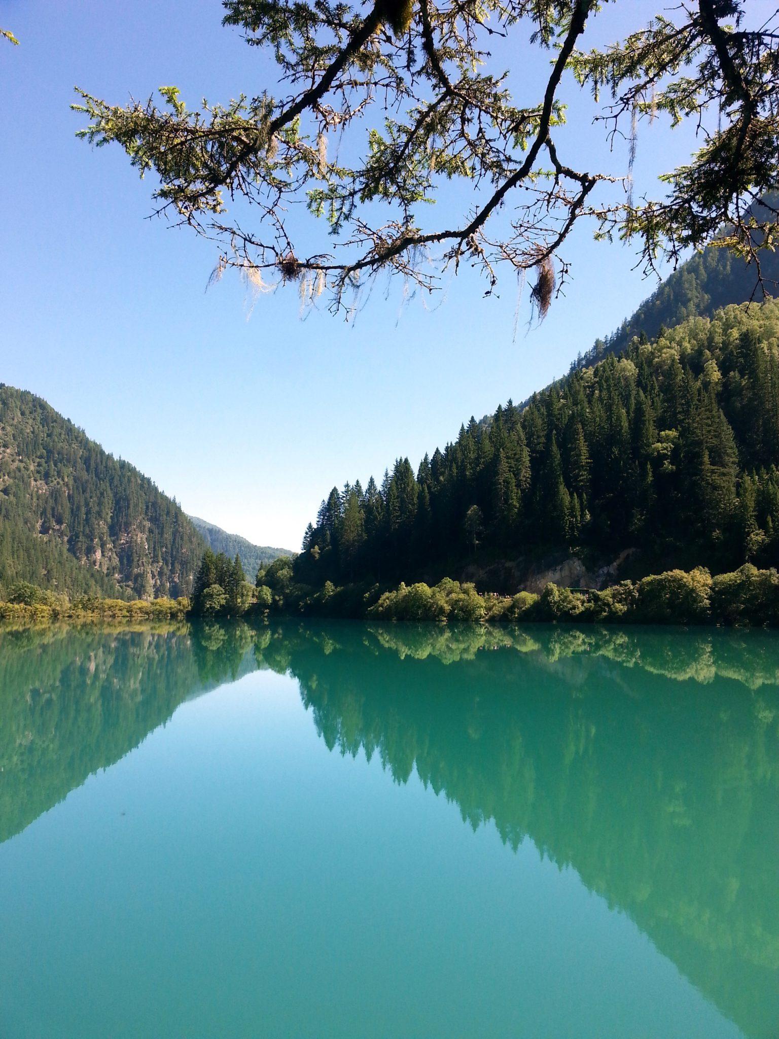 jiuzhaigou- lago specchio