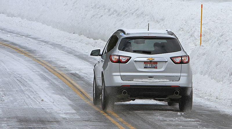 come guidare sulla neve
