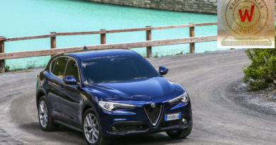 ALFA ROMEO STELVIO TOP WEEKEND CAR 2017