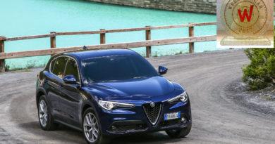 ALFA ROMEO STELVIO TOP WEEKEND CAR 2017