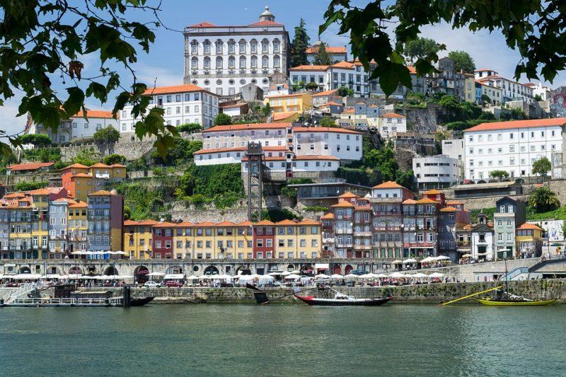 Porto fiume Douro Ribeira