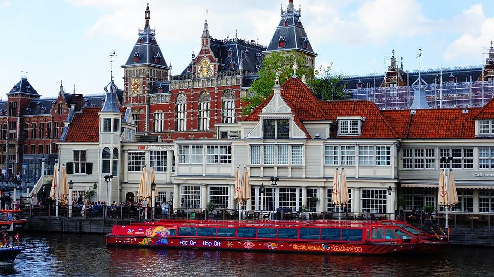 Amsterdam -Stazione ferroviaria