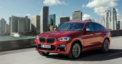 BMW X4 2018 sfida Alfa Romeo Stelvio, Jaguar F-Pace, Mercedes GLC Coupé e Porsche Macan