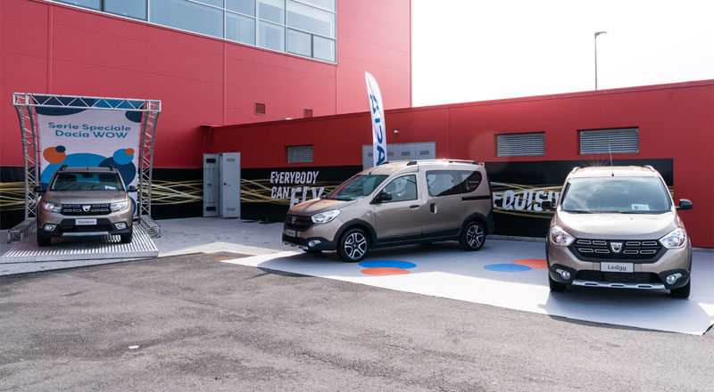 Dacia Wow, serie speciale per distinguersi nel low cost