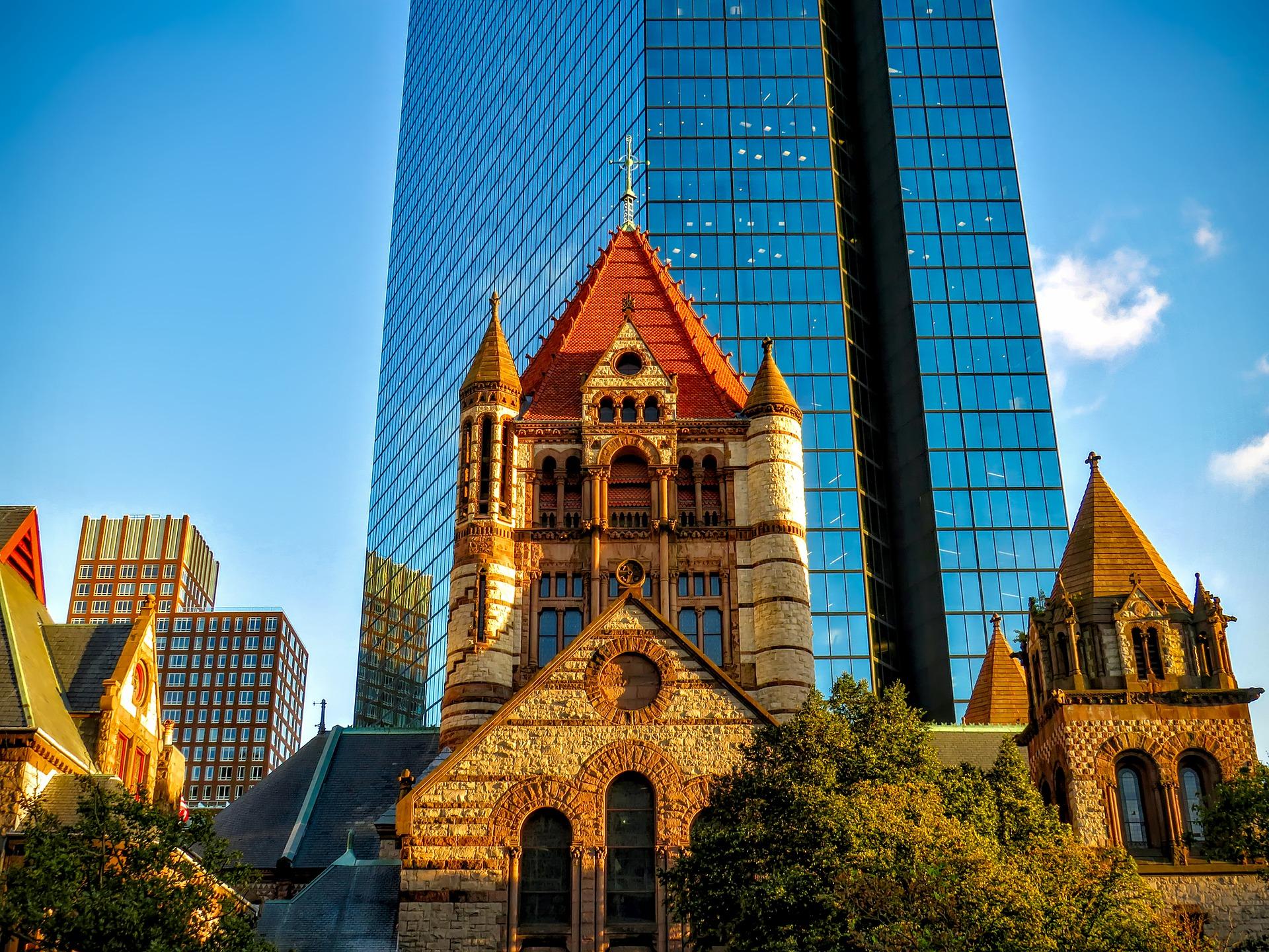 Le caratteristiche architetture di Boston