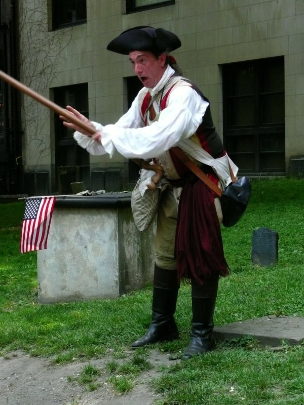 Molte a Boston le rievocazioni storiche in costume delle battaglie