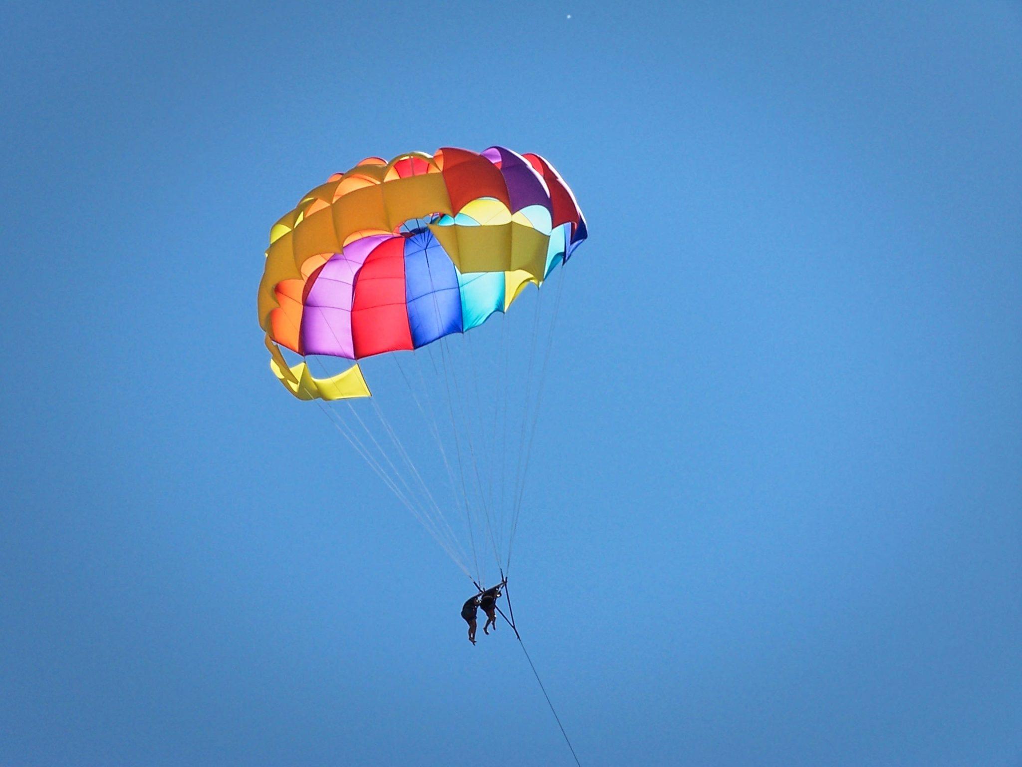 Fethiye in volo con il parapendio