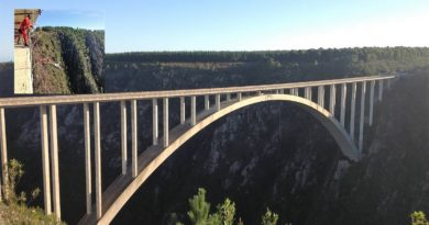 Bloukrans Bridge: un saldo nel vuoto