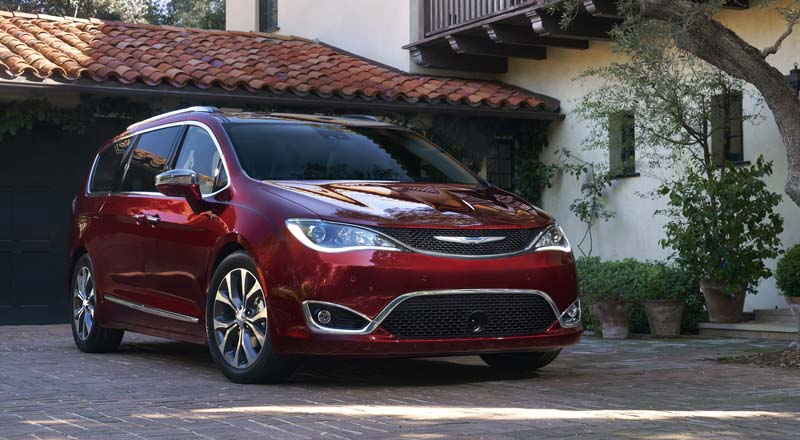 Chrysler Pacifica in Italia