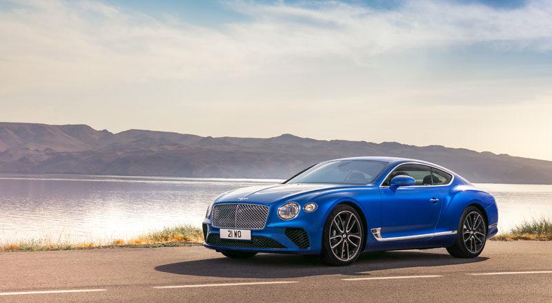 Bentley Continental GT: gran turismo di lusso