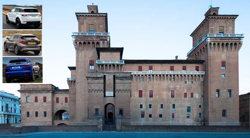Itinerari per SUV: a Ferrara nel lusso