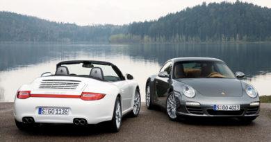 70 anni Porsche: festa tra le bellezze italiane