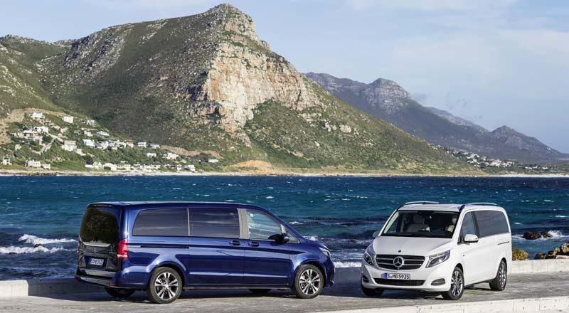Mercedes Classe V: Night Edition, multispazio di lusso