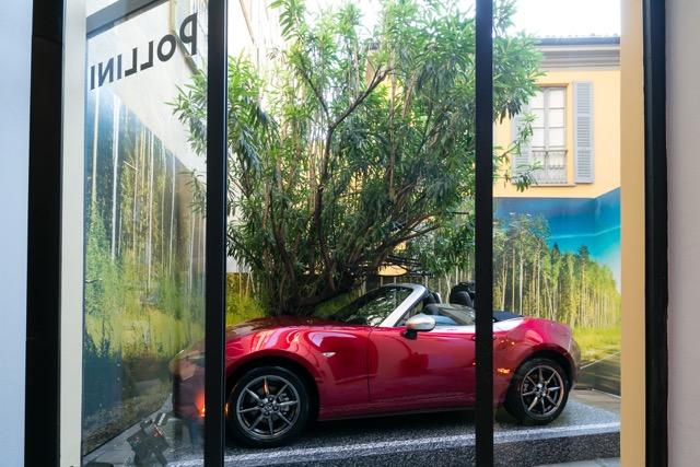 Settimana della moda Milano: serata chic con Mazda e Pollini