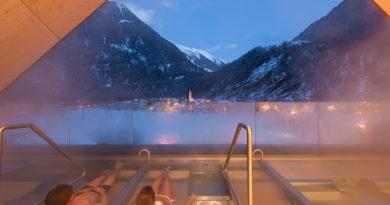 L'inverno più caldo? È all'Aqua Dome, le terme più futuristiche dell'arco alpino