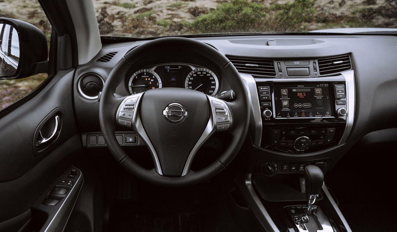 L'interno di Nissan Navara