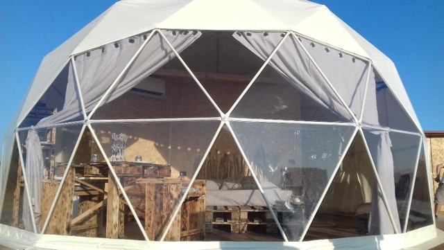 Cupola Geodetica Glamping Il Sole