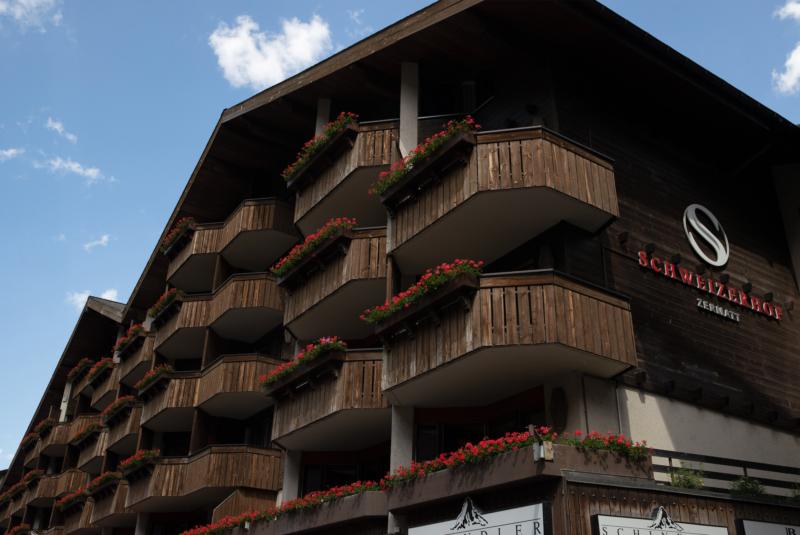 Visuale esterna Schweizerhof Zermatt