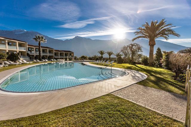 Veduta piscina Park Hotel Imperial