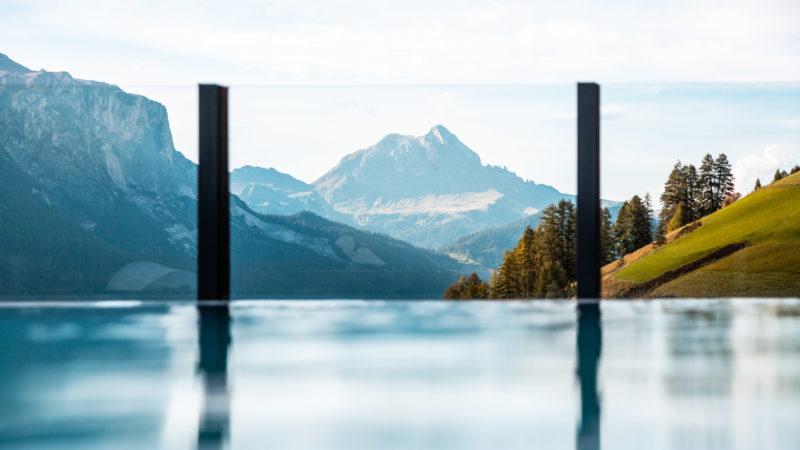 Panorama sulle montagne alto adige
