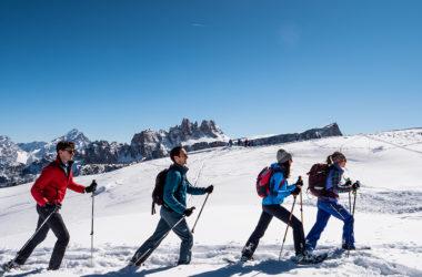 ciaspole, escursioni e sci di fondo