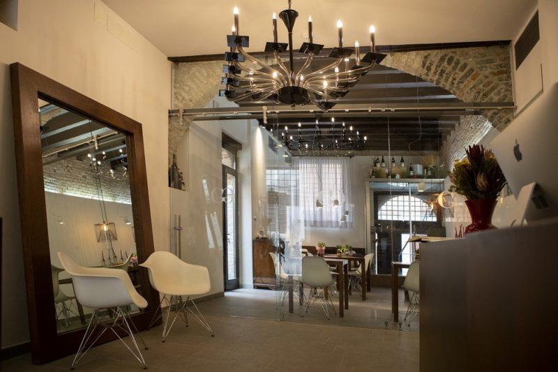 Sala design Hotel Corte di Gabriela