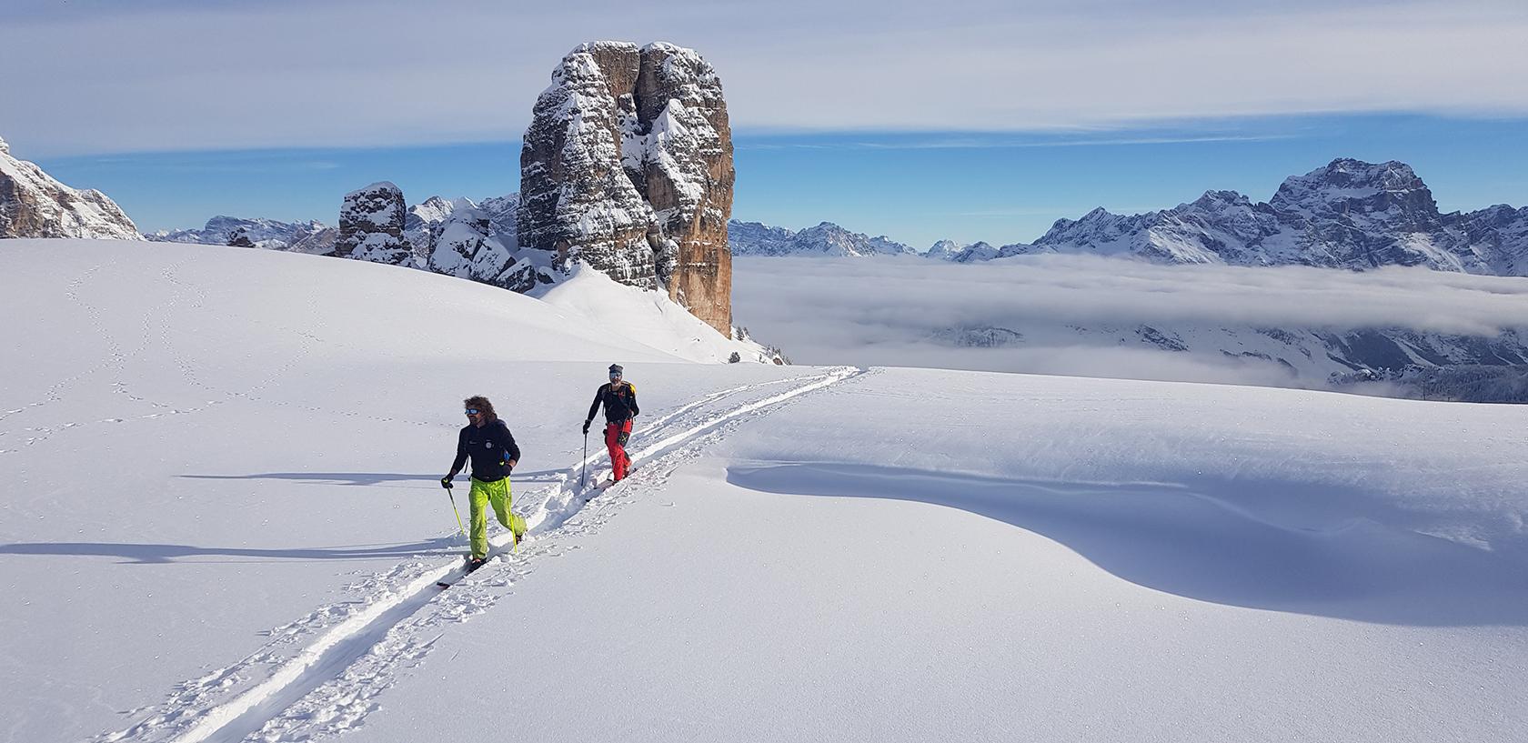 escursioni scialpinismo