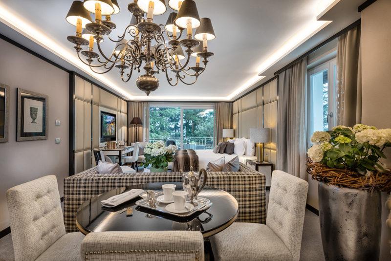 Ingresso suite Villa Eden park merano