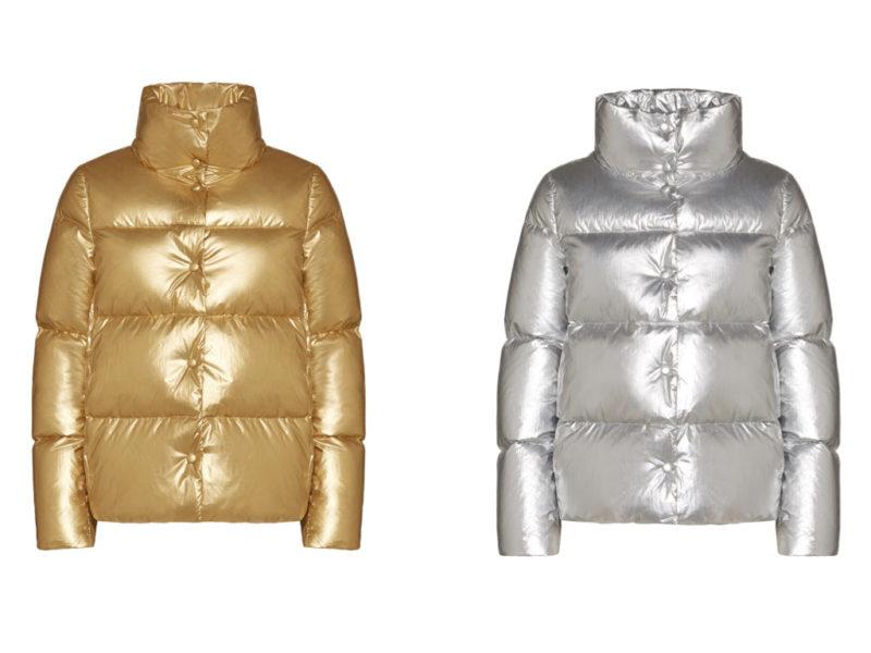 Piumini ADD oro e argento